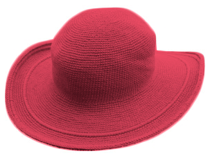 Foxgloves - C3 Hat - Coral Red