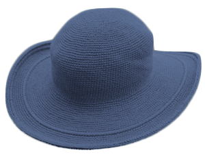 Foxgloves - C3 Hat - Denim Blue